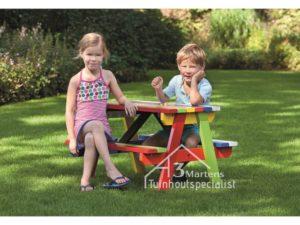 kinder picknicktafels